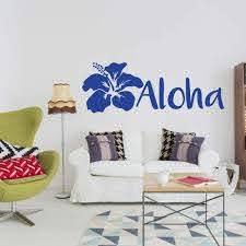 Hawaii Theme Vinyl Decor Vinyl Decor Wall Decal Customvinyldecor Com