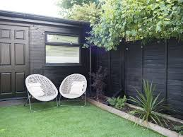 If In Doubt Paint It Black The Failsafe Way To Revive A Tired Garden Fence Or Shed Gold Is A Neutral