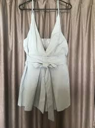 grey rumour boutique playsuit on