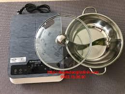 Bếp từ cảm ứng Sunhouse Mama SHD6858 - Bếp từ đơn ăn lẩu tặng nồi ...