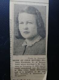 Clara Smith Overstreet Eberman (1916-1998) - Find A Grave Memorial