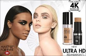 make up for ever launches its ultra hd