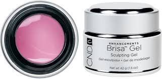 cnd brisa cool pink sculpting gel semi