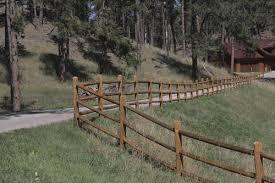 Ac2 Doweled 78 Cedartone Treated 3 Hole Line Fence Post At Menards