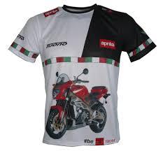 aprilia tuono 1000 fighter t shirt with