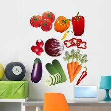 Vegetables Wall Stickers Wallmonkeys Com