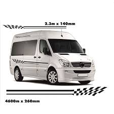 Camper Van Vinyl Graphic Decals Car Stickers Da4 0001 Car Stickers Aliexpress