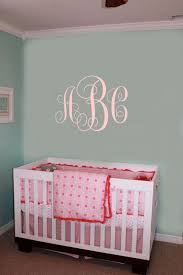 Monogram Decals Nursery Decal Initial Wall Decal College Dorm Room Monogrammed Wall Decal Monogram Letters Sticker Dorm Wall Stickers Vinyll4u Online Store Powered By Storenvy