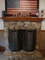 how to clean a stone fireplace surround
