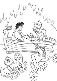Prins Erik En Ariel Kleurplaat Gratis Kleurplaten Printen
