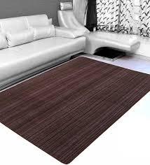 brown stripes pattern machine made