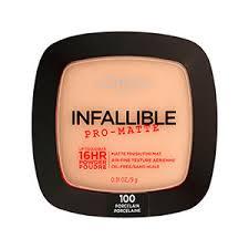 infallible pro matte powder face