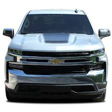 2020 2019 Chevy Silverado Hood Decal T Boss Trail Boss Stripe 3m Vinyl Graphics Kit