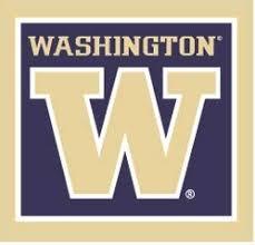 Amazon Com 3 Inch Uw W University Of Washington Huskies Logo Removable Wall Decal Sticker Art Ncaa Home Room Decor 3 By 3 Inches Baby