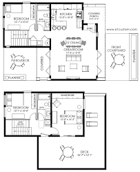 small house plan ultra modern small