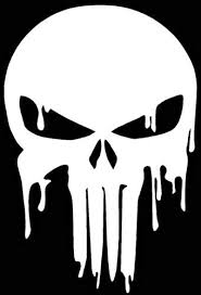 Amazon Com Dripping Punisher Skull Vinyl Decal Sticker Cars Trucks Walls Wall Decal Decal Sticker For Car Window 30x21 Cm White Home Kitchen