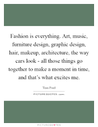 fashion is everything art music furniture design graphic