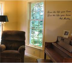 Love The Life You Live Vinyl Wall Decal Sold By International Expressions On Storenvy
