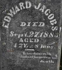 Edward Jacobs (1841-1883) - Find A Grave Memorial