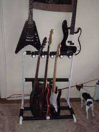 free diy pvc multiple guitar stand plans