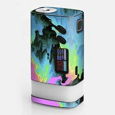 Skin Decal For Sigelei Fuchai Glo Vape Water Colors Trippy Abstract Pastel Preppy Itsaskin Com