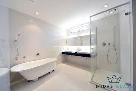 frameless glass shower screens
