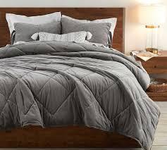 velvet comforter twin flagstone