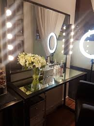 professional makeup desk allure