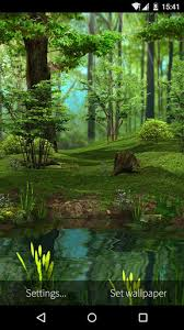3d deer nature live wallpaper