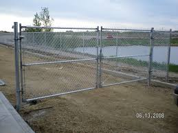 Phoenix Fence Chainlink Commercial Industrial Swing Gates