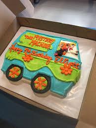 Mystery Machine Van Cake Scooby Doo Cumpleanos Scooby Doo