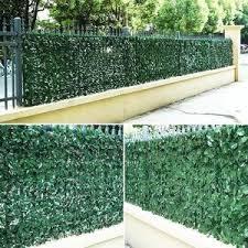 Charm Vine Expandable Faux Privacy Fence Snappyfinds Com