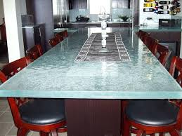 photos wood and glass table dining room