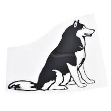 Siberian Husky Car Sticker The Top Dog Deals