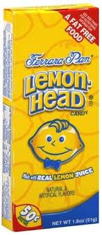 lemonhead candy 1 8 oz nutrition