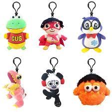 ryan s world clip on plush toy gus