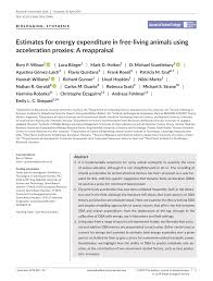 pdf estimates for energy expenditure