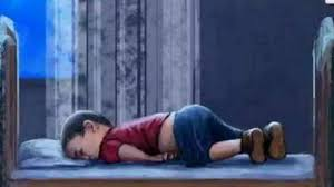 Il saluto a Aylan, il bambino siriano morto su una spiaggia (FOTO)