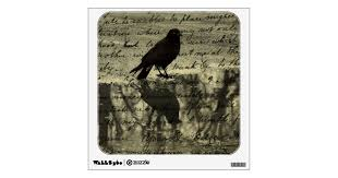 Collage Of Crow Wall Decal Zazzle Com