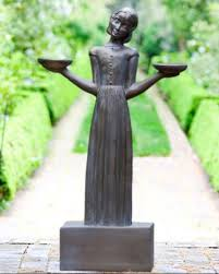 savannah s bird girl statue my