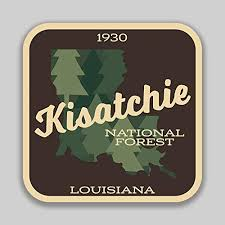 Jmm Industries Kisatchie National Forest Louisiana Vinyl Decal Sticker Car Window Bumper 2 Pack 4 Inches 4 Inches Premium Quality Uv Protective Laminate Pds1414 Amazon Com