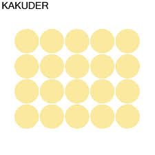 Kakuder Easy Peel Stick Gold Wall Decal Dots 2 Inch 200 Decals Safe On Walls Paint Adesivi Murali Bambini Baby Room 30 Mar 23 Wall Stickers Aliexpress