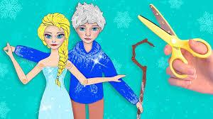 15 Đồ Thủ Công Cho Búp Bê Giấy Nữ Hoàng Băng Giá Chuyện Tình Elsa ...