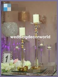 new style crystal goblet candle holder