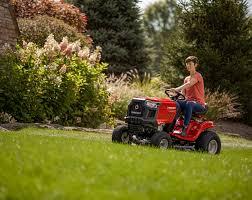 riding lawn mowers troy bilt us