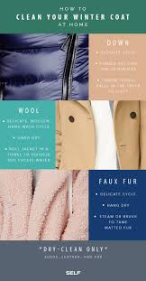 cleaning your winter coat
