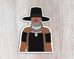 Beyonce Sticker Etsy