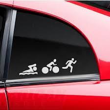 Car Window Door Bumper Laptop Wall Swim Bike Run Ironman Triathlon Sign Car Sticker Decal Sticker Buy At A Low Prices On Joom E Commerce Platform
