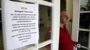 Westgate Tabernacle closing homeless shelter, moving families ...