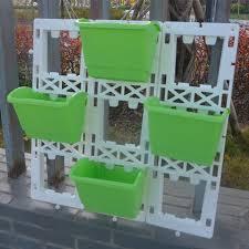 diy wall garden vertical planter